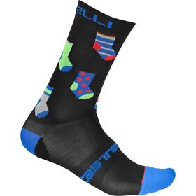 Castelli Pazzo 18 Socken black